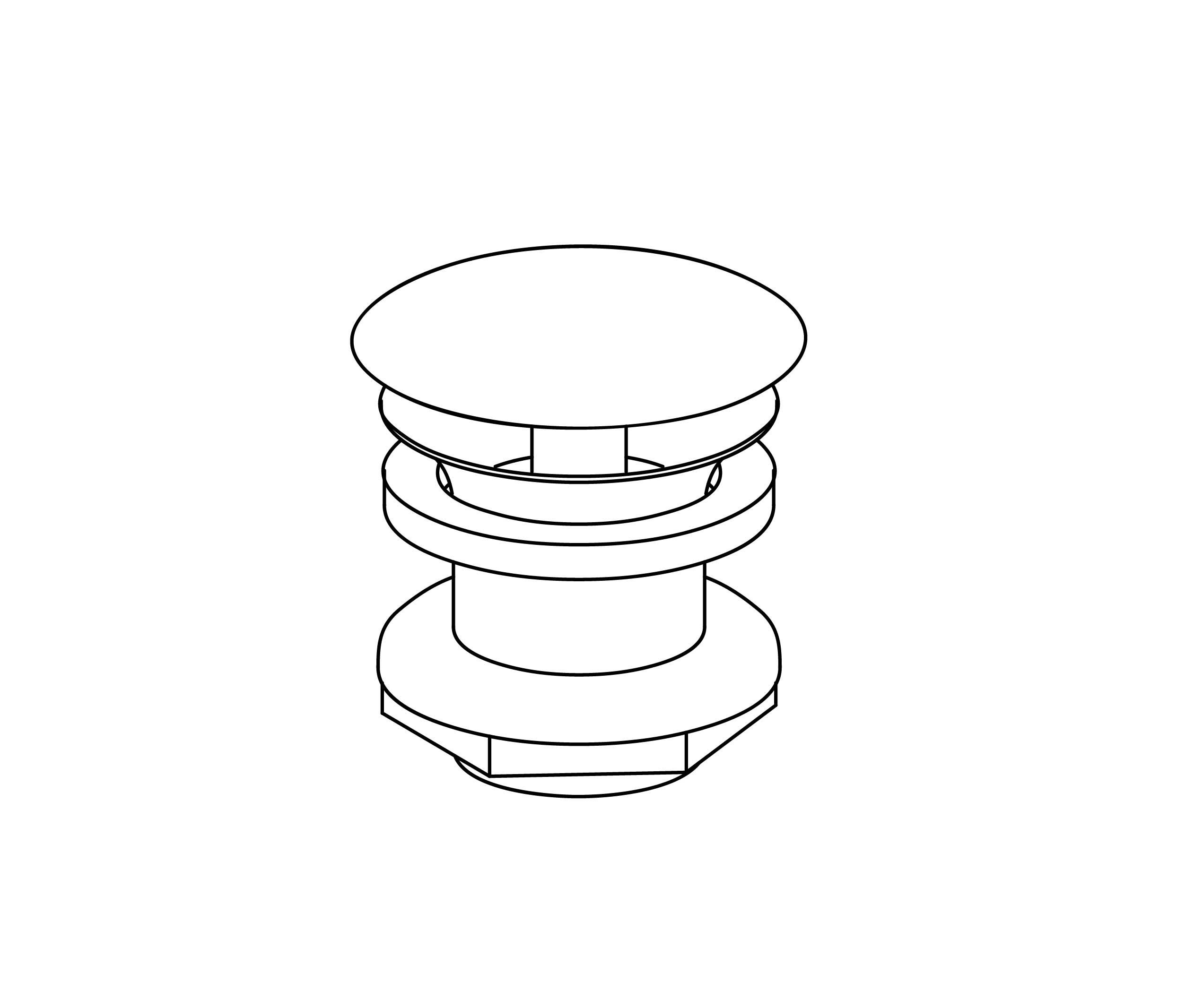 S00-111 Round waste, free flow