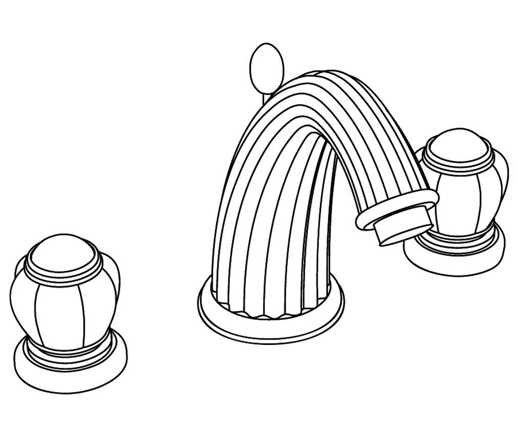 S161-1301 3-hole basin mixer