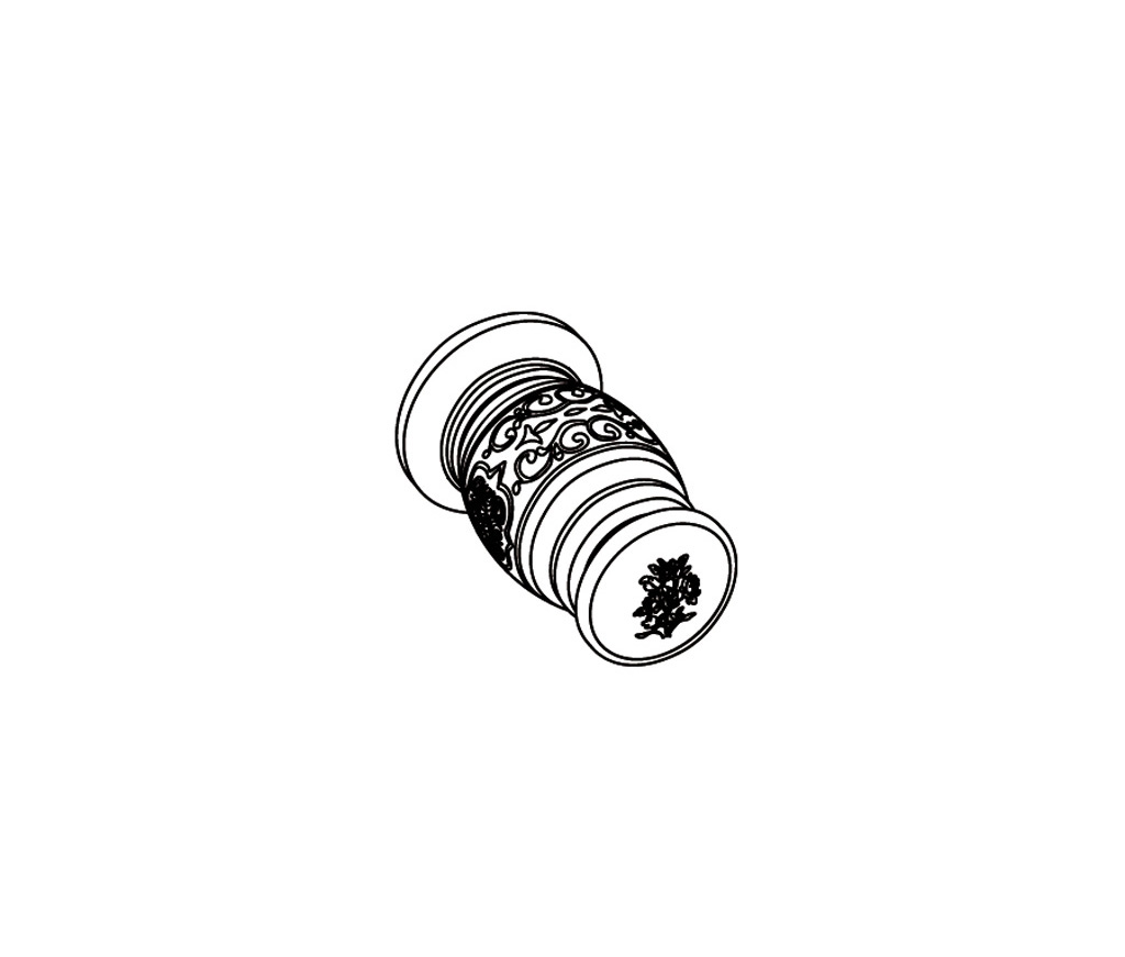 S163-128C Wall mounted valve 1/2″ C