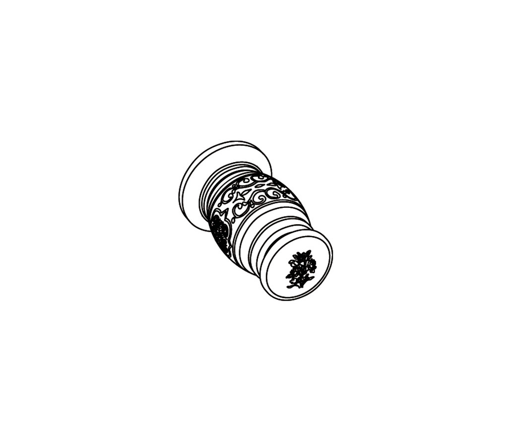 S163-128H Wall mounted valve 1/2″ H
