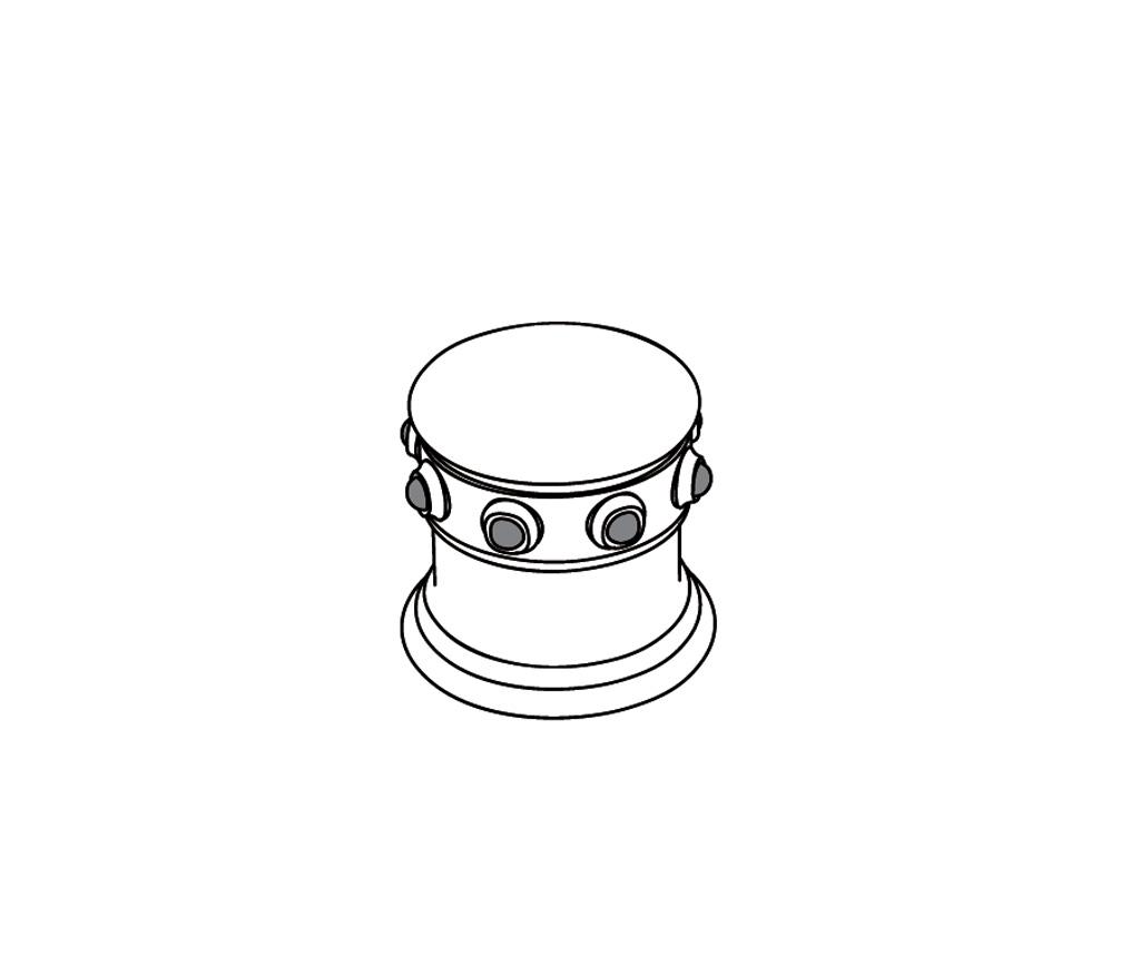 S169-126H Rim mounted valve 1/2″ H