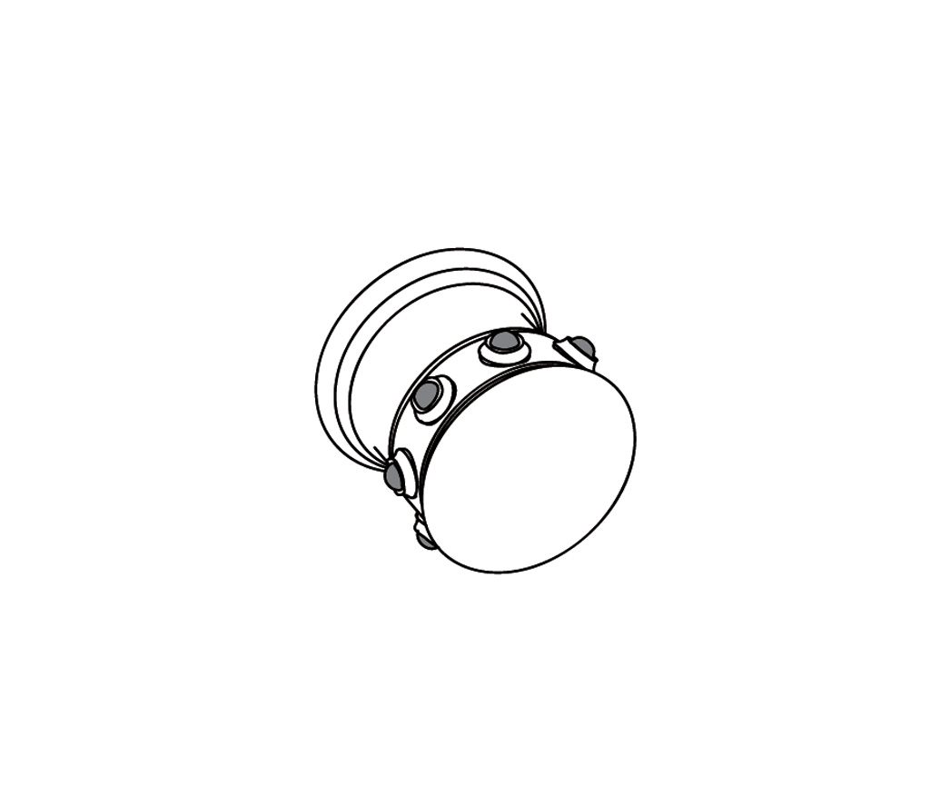 S169-128H Wall mounted valve 1/2″ H