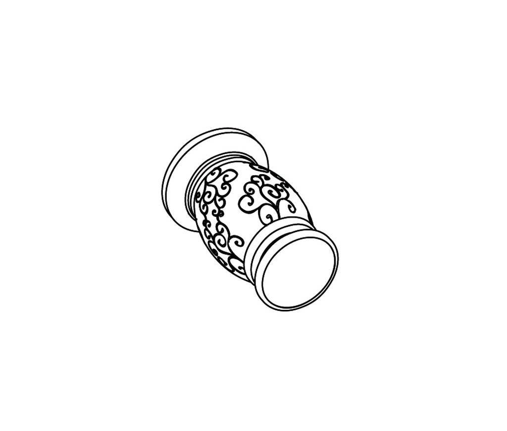 S177-128H Wall mounted valve 1/2″ H