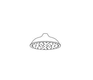 2411 Pomme de douche « rétro »