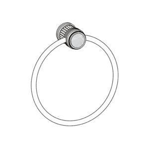 510 Porte-serviette anneau